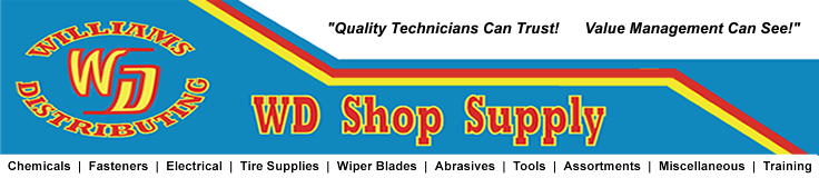 Williams Distributing-WD Shop Supply.com, Shop Supplies for Professionals